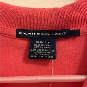 Ralph Lauren Tops - Ralph Lauren Sport NWT hot pink polo shirt